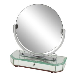1940s French Venetian Vanity Mirror For Sale