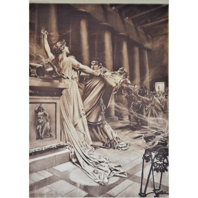 """""""Norma Act II Scene X"""" William De Leftwich Dodge Photogravure - Image 3 of 7"""