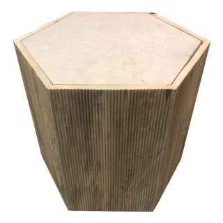 Jamie Young Argan Hex Side Table For Sale