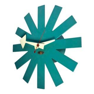 1960's Vintage George Nelson Howard Miller Asterisk Clock For Sale