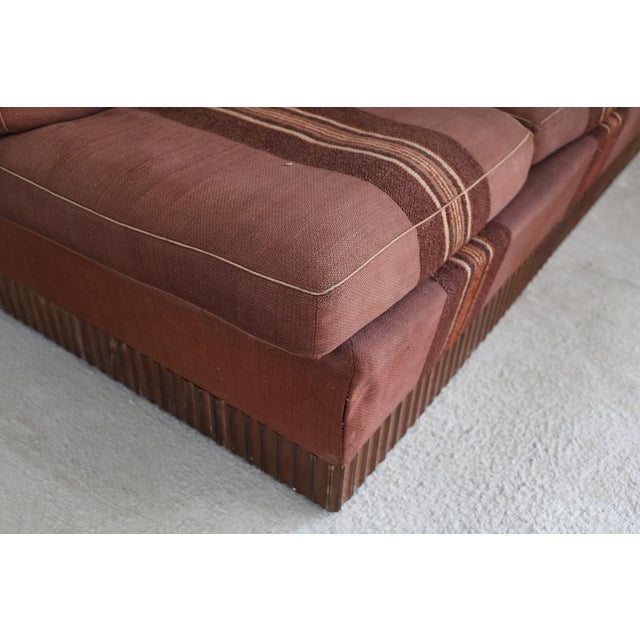 Mid-Century Modern Rare Day Bed by Pierluigi Colli, Original Fabric From 1950. For Sale - Image 3 of 6