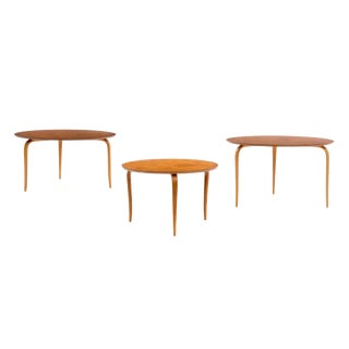Bruno Mathsson Nesting Tables For Sale
