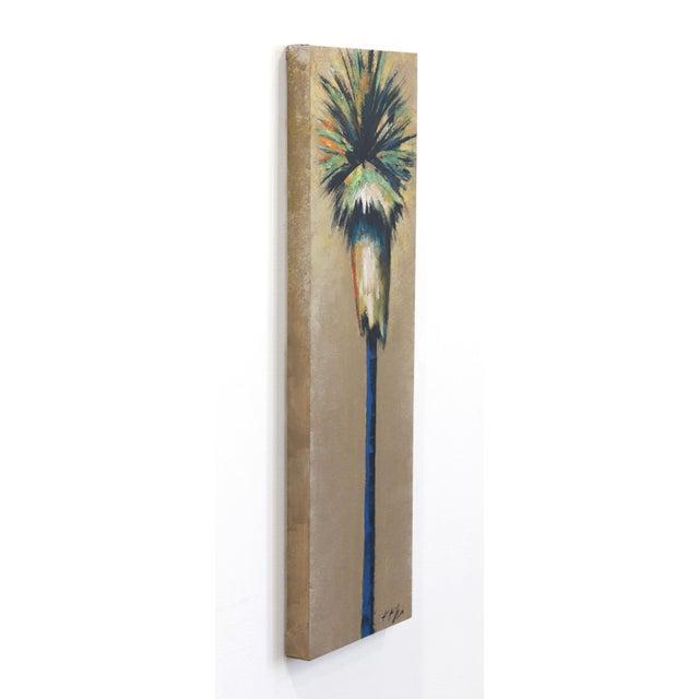 """Dancing Light in April Palm"" Original Artwork by Kathleen Keifer For Sale In Los Angeles - Image 6 of 8"