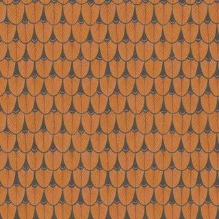 Cole & Son Narina Wallpaper Roll - Burnt Orange For Sale
