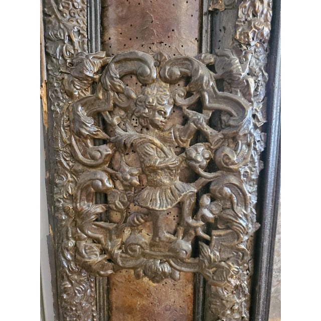 17th Century 17th Century Cushion Moulded Dutch Mirror For Sale - Image 5 of 9