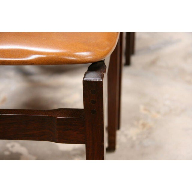 Six Gianfranco Frattini Chairs For Sale In Los Angeles - Image 6 of 11