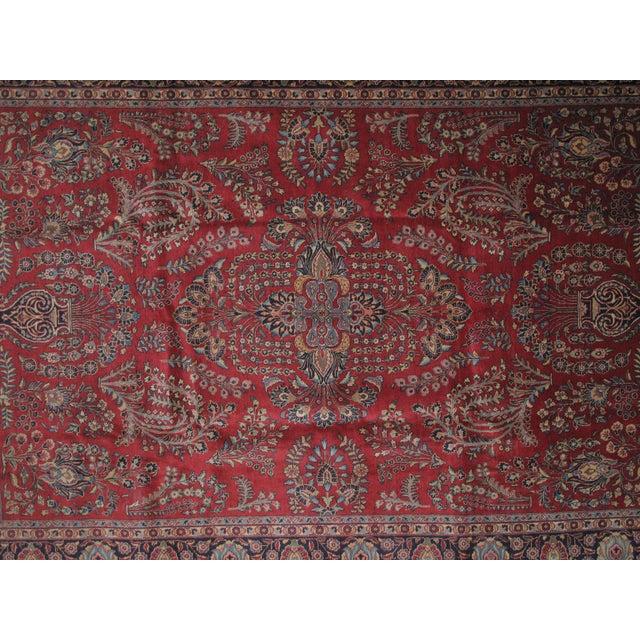 "Islamic Leon Banilivi Antique Tabriz Carpet -- 8'10"" x 12' For Sale - Image 3 of 5"