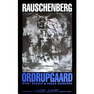 Robert Rauschenberg, Night Shades & Urban Bourbons, 1993 Poster For Sale