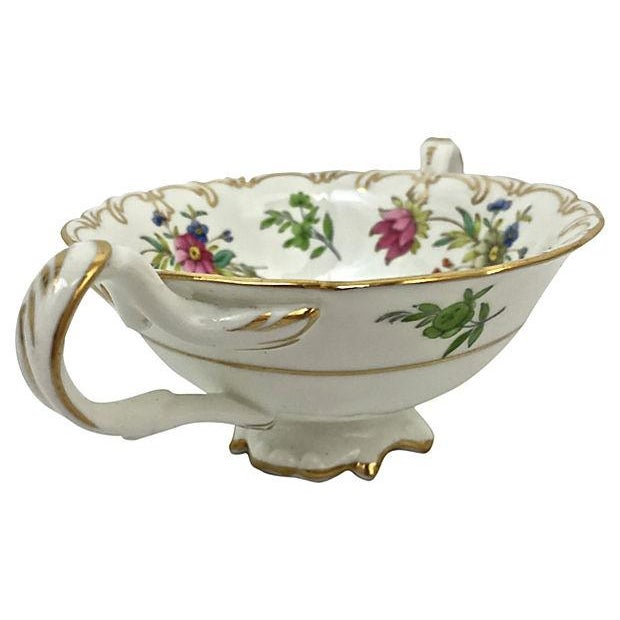 English Soup Cups & Saucers - Set of 6 - Image 4 of 10
