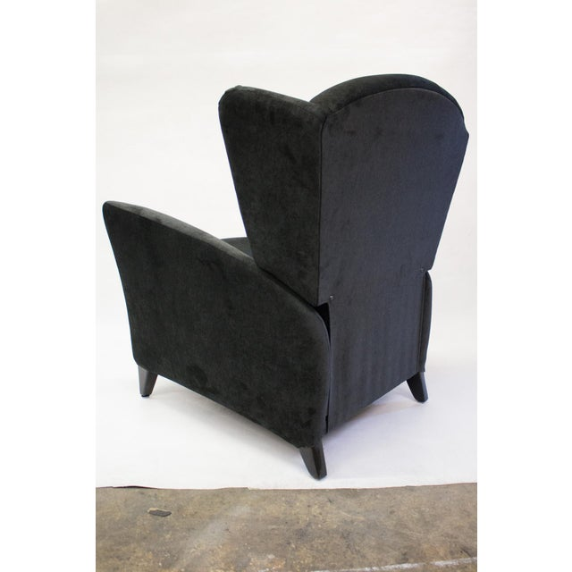 Mid-Century Reclining Wingback Chair - Image 5 of 8