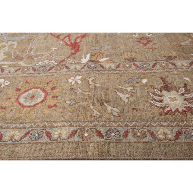 "Persian Sultanabad Rug - 6'4"" x 16'5"" - Image 2 of 10"