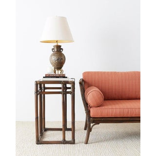 Japanese Bronze Urn Vase Mounted as Table Lamp Preview