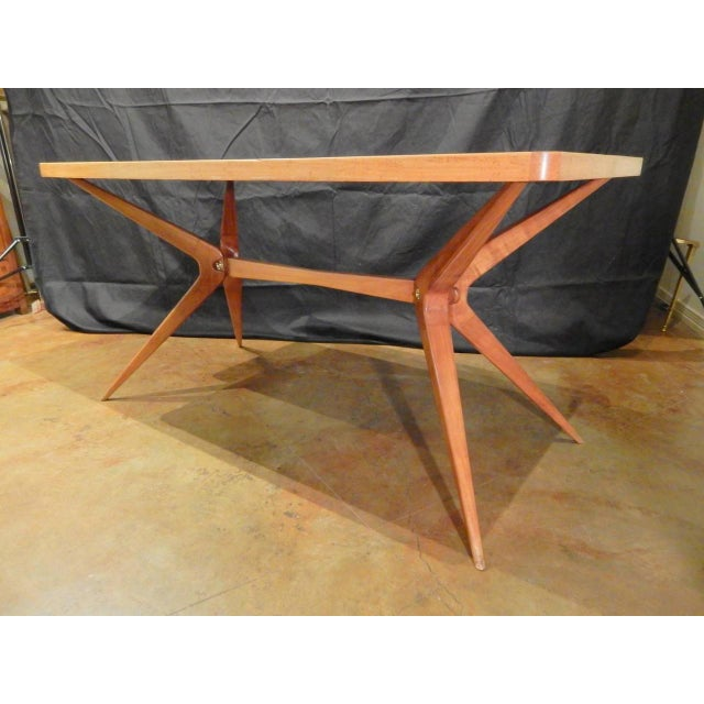 1960s Ico Parisi Italian Dining Table For Sale - Image 5 of 9