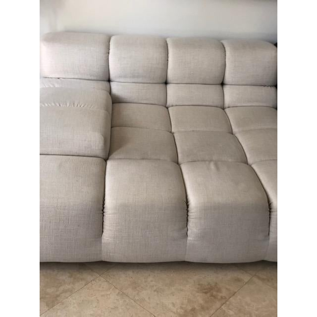 Art Deco B&B Italia Modern Tufty Time Sofa For Sale - Image 3 of 5