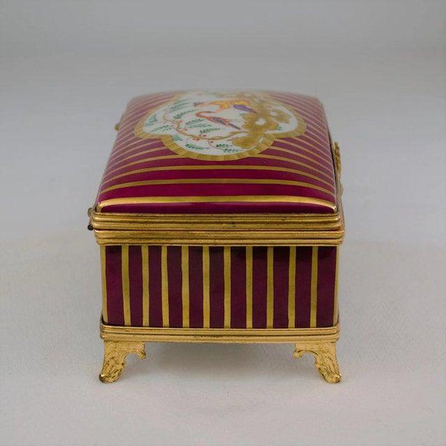 Atelier LeTallec Laque de Chine Porcelain Box For Sale - Image 9 of 12