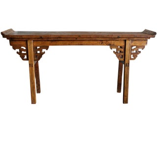 Rustic Farm Console Table