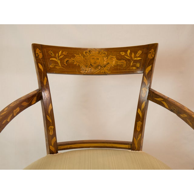 1920's French Armchair With Inlay - Image 7 of 7