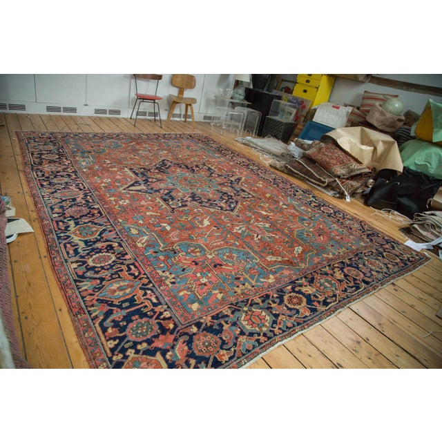 "Vintage Heriz Carpet - 9' X 11'8"" - Image 2 of 10"