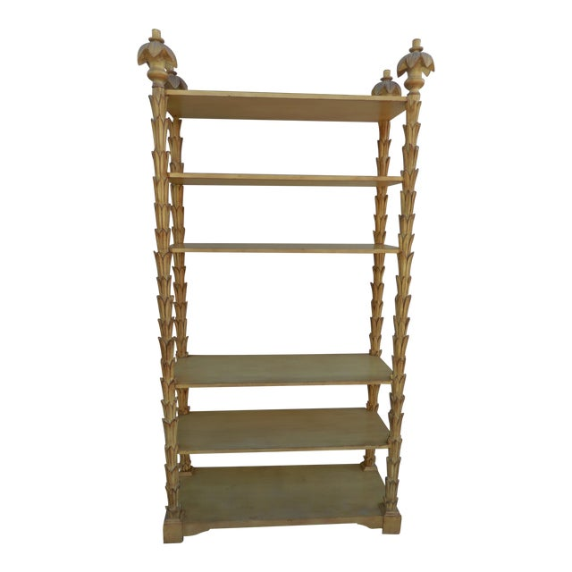 Mid-Century Palm Etagere - Image 1 of 5