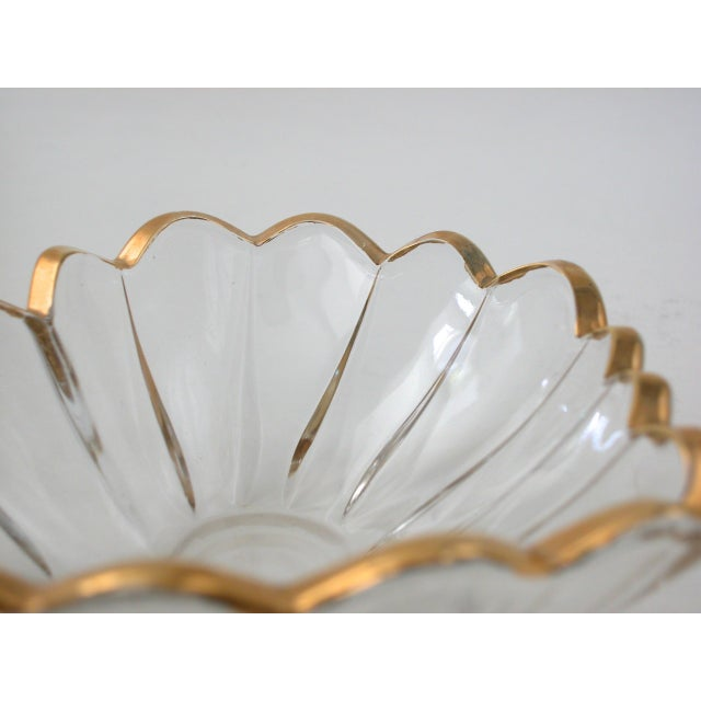 Glass and Gold Heart Dish - Image 9 of 9