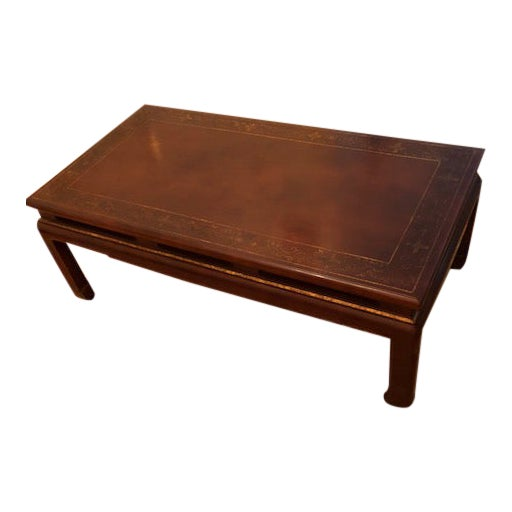 Asian Style Coffee Table For Sale