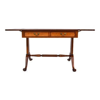 Chippendale Style Drop Leaf Desk or Dining Table For Sale
