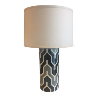 Jill Rosenwald Medium Oval Lamp in Plimpton Flame For Sale