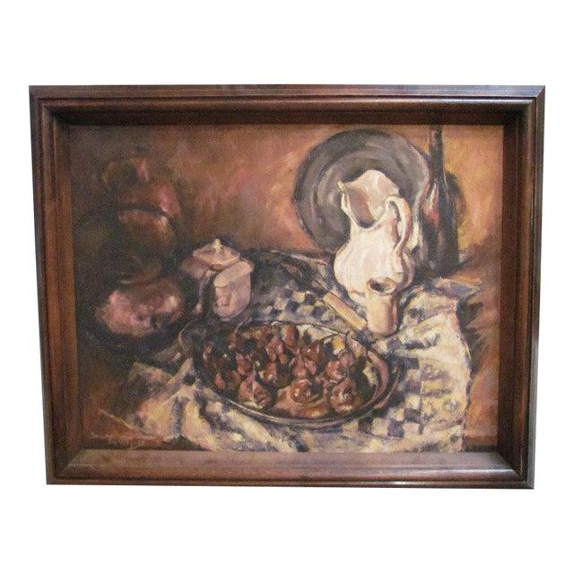 Belgian Still Life Oil Painting - Image 1 of 5