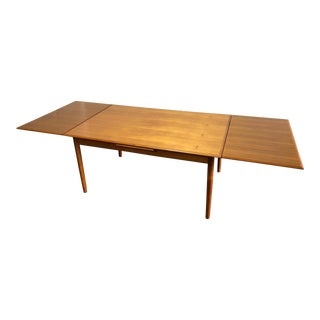 20th Century Danish Modern Koefoeds Hornslet Møbelfabrik Teak Dining Table For Sale