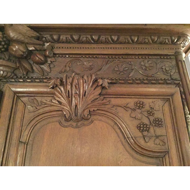 French Wedding Armoire - Image 7 of 7