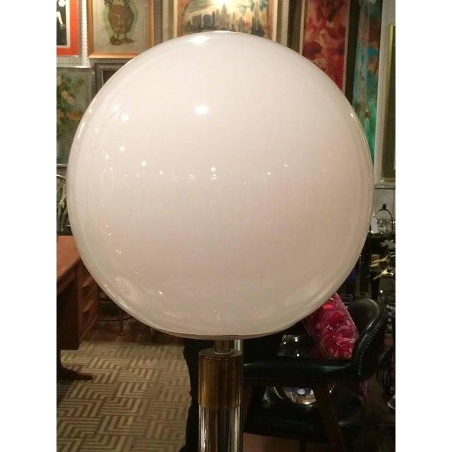 1960s Large Robert Sonneman Style Lollipop Table Lamp For Sale - Image 5 of 12