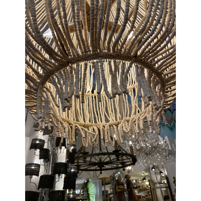 Made Goods CoCo Bead Aida Chandelier For Sale In San Francisco - Image 6 of 10