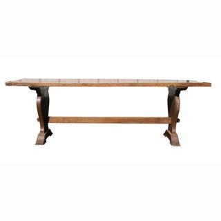 Italian Baroque Walnut Trestle Table Preview