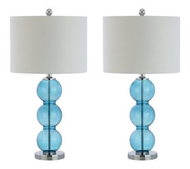 Image of Newly Made Crystal Table Lamps