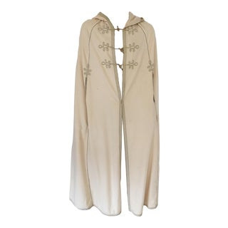 1970s Moroccan Caftan Hooded Cape For Sale