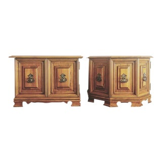Mid-Century Side Tables - A Pair For Sale