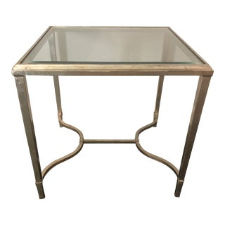Lillian August Square Side Table For Sale