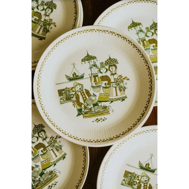 Turi-Design Norwegian Mid-Century Dinner Plates - Set of 8 For Sale - Image 6 of 10