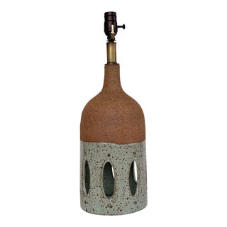 Contemporary Ceramic Table Lamp For Sale