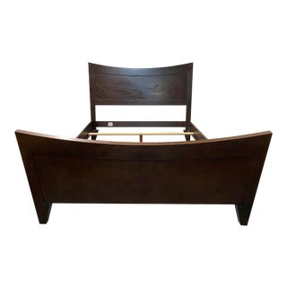 Queen Size Ethan Allen Horizon Collection Bed Frame For Sale