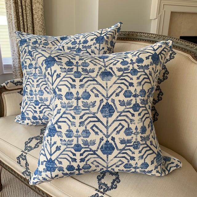 Fabric Zak & Fox Kohtan Pillows - Pair For Sale - Image 7 of 7