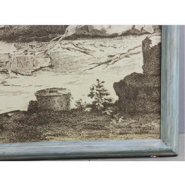 """French French Grisaille """"Papiers Peints"""" Panels - a Pair For Sale - Image 3 of 5"""
