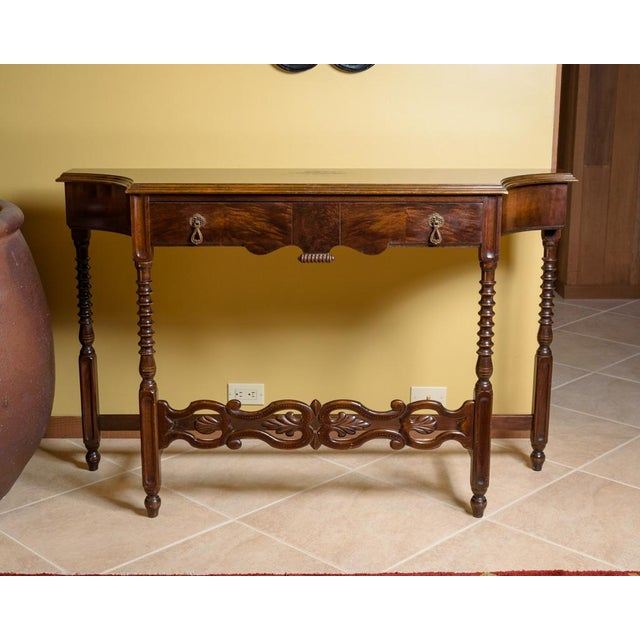 American Walnut Sofa Table - Image 2 of 8