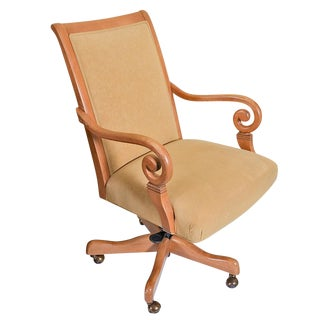Late 20th Century Ethan Allen Desk Chair For Sale