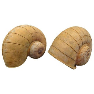 Terracotta Snail-form Garden Ornaments
