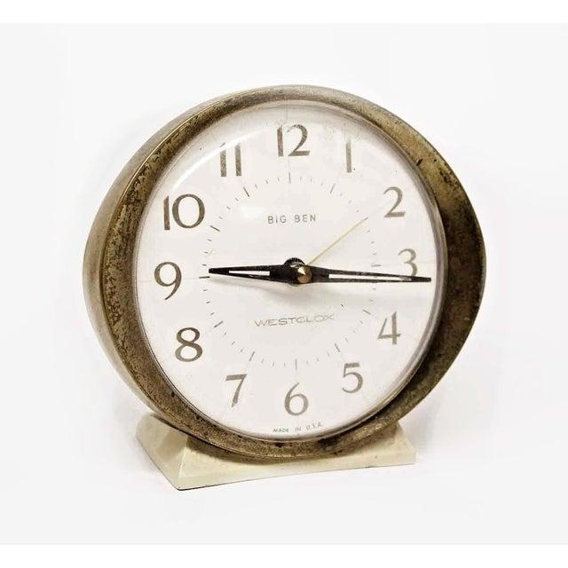 Westclox Big Ben Plastic & Brass Alarm Clock For Sale - Image 11 of 11
