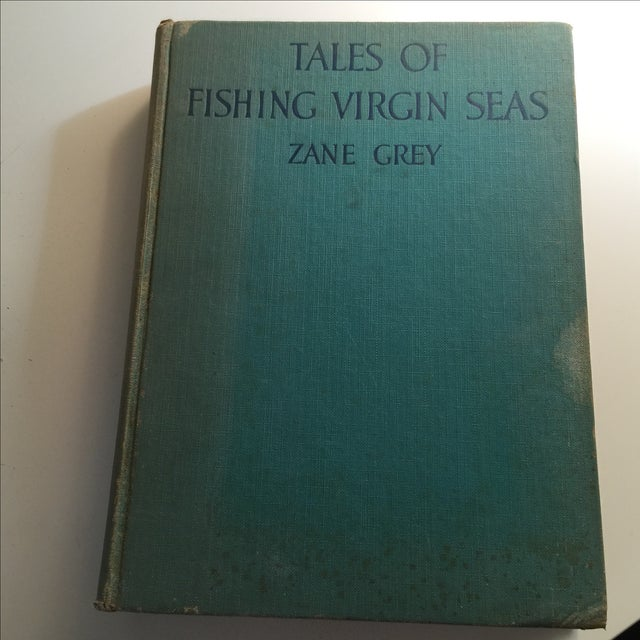 "1925 ""Tales of Fishing Virgin Seas"" by Zane Grey - Image 2 of 11"