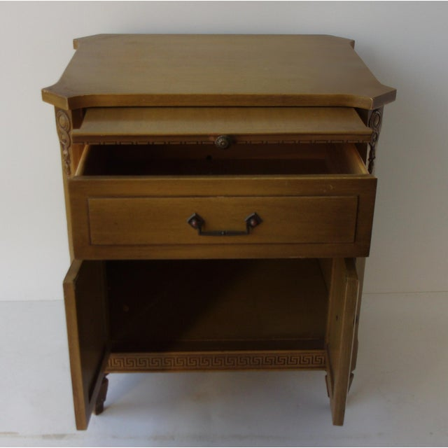 Midcentury Modern Walnut Nightstands - A Pair - Image 5 of 6