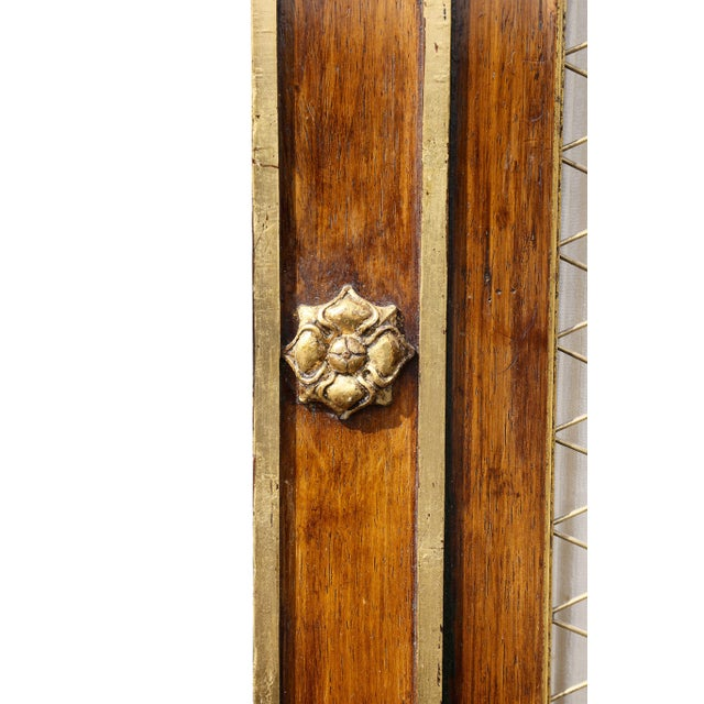 1940s Regency Style Rosewood and Gilded Credenza For Sale - Image 5 of 11