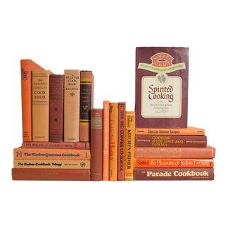 Citrus Kitchen Cook Book Set - Set of 20 For Sale